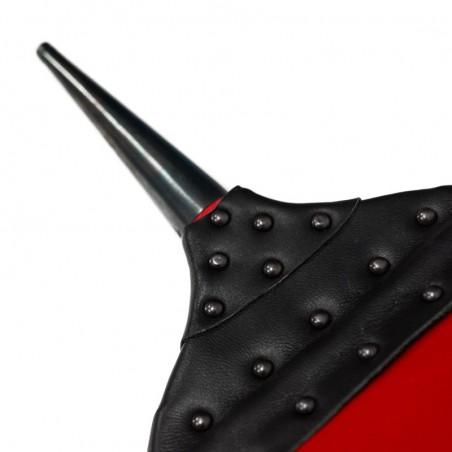 Soufflet de cheminée ACTUEL - laqué rouge