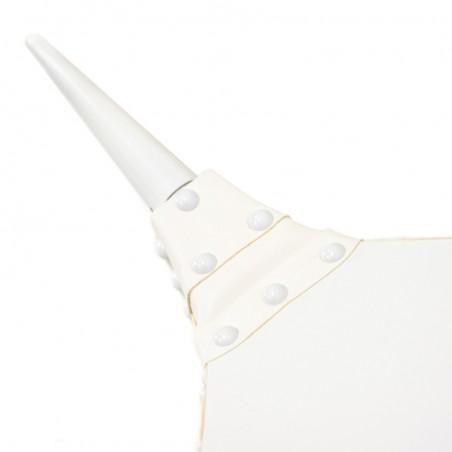 Soufflet de cheminée ZÉPHYR - laqué blanc
