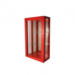 Vitrine contemporaine Rouge