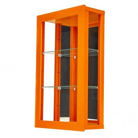 Vitrine contemporaine Orange