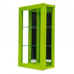 Vitrine contemporaine Vert...