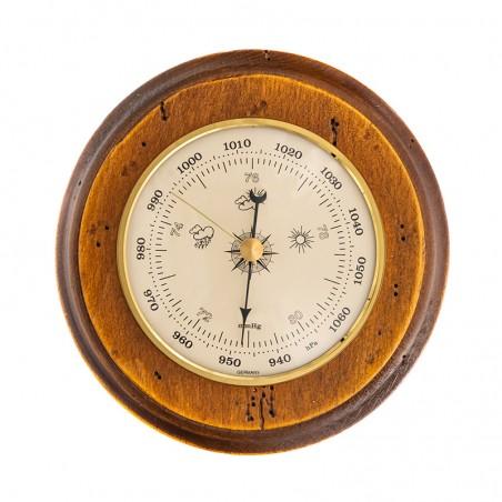 Baromètre rond finition antiquaire