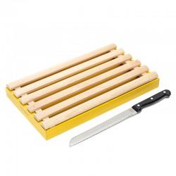 Planche à pain jaune avec...