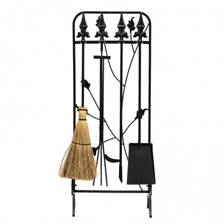 Serviteur 3 instruments - décor branches - 80cm