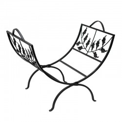 Porte buches - Décor Branches