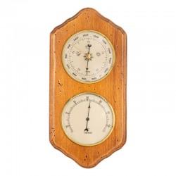 Baromètre thermomètre festonné antiquaire