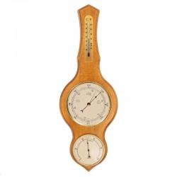 Baromètre thermomètre hygromètre lyre antiquaire